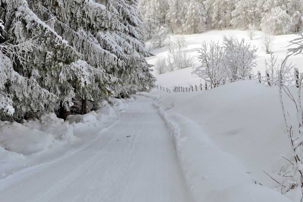 Podróż z dzieckiem samochodem zimą